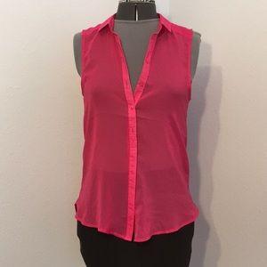 Women's H &M Sheer sleeveless top